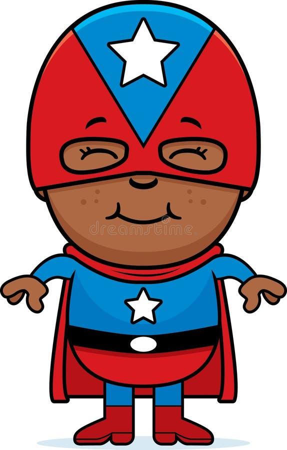 Piccolo supereroe royalty illustrazione gratis