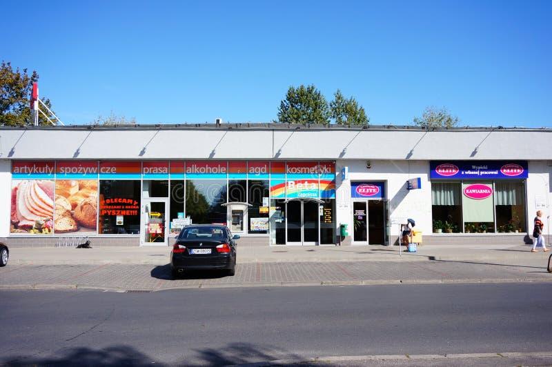 Piccolo supermercato immagine stock