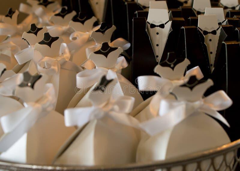 Piccolo vestito bianco immagine stock