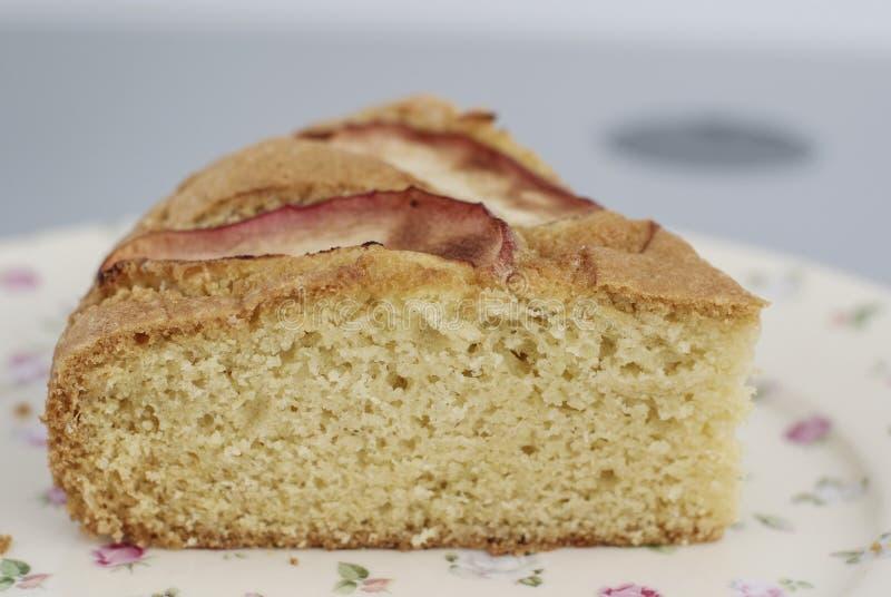 Pice de gâteau du vieux plat de mode photo libre de droits