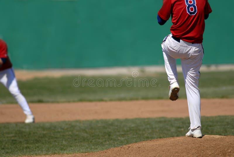 Pichet de base-ball photographie stock libre de droits