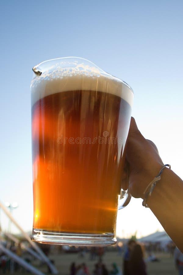 Pichet de bière photographie stock