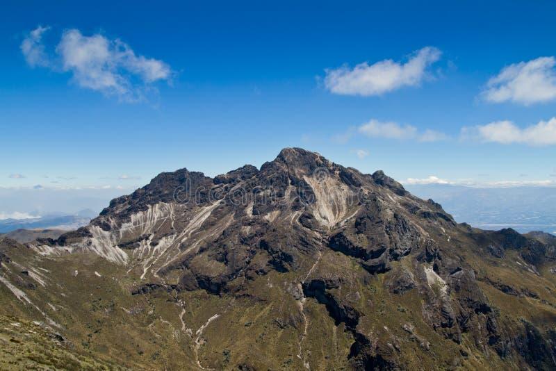 Pichincha Vulkan innen in der Nähe von Quito, Ecuador stockfotografie