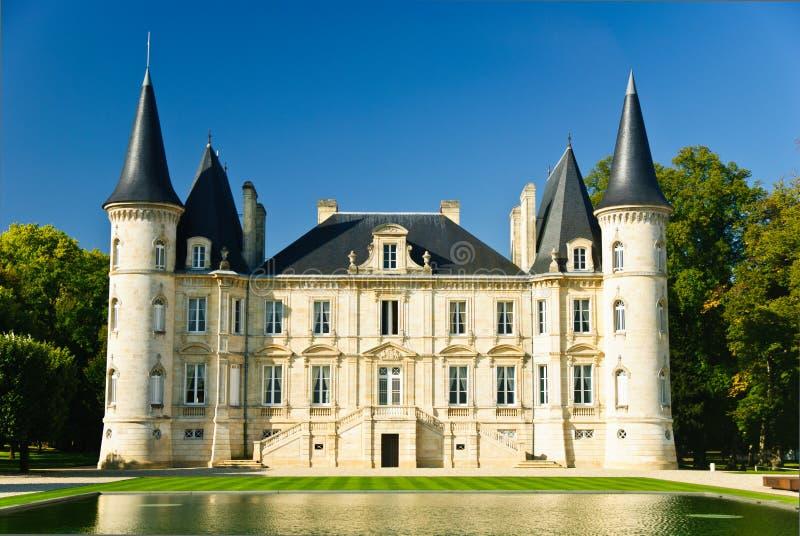 pichon longueville замка стоковое изображение rf
