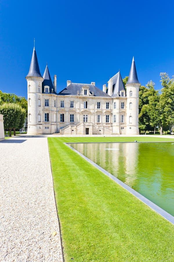 pichon longueville замока стоковые изображения