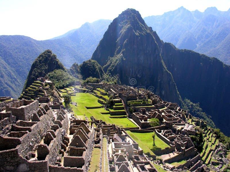 pichu του Περού machu 2 στοκ φωτογραφία με δικαίωμα ελεύθερης χρήσης