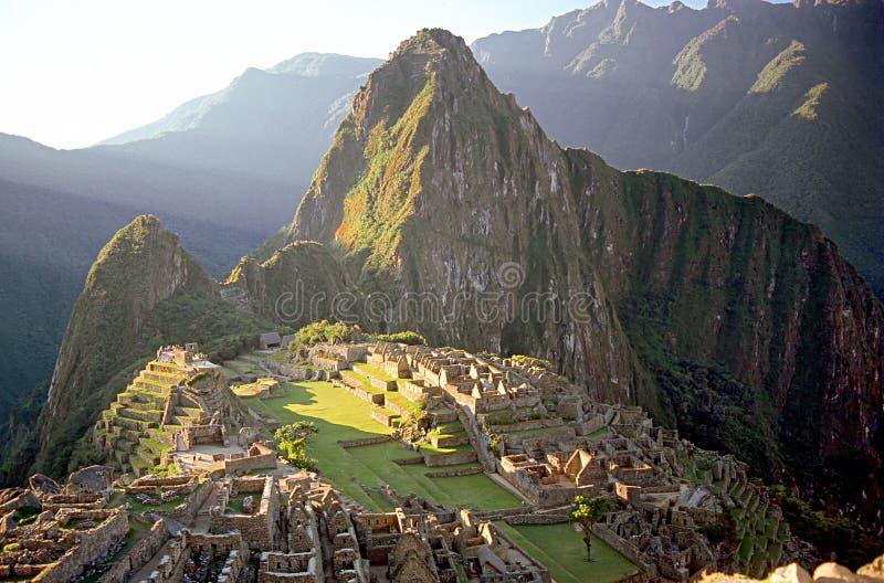 Pichu de Machhu, Perú imagen de archivo