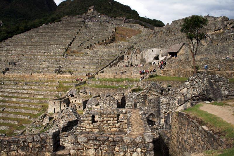 Pichu machu посещения стоковые фото