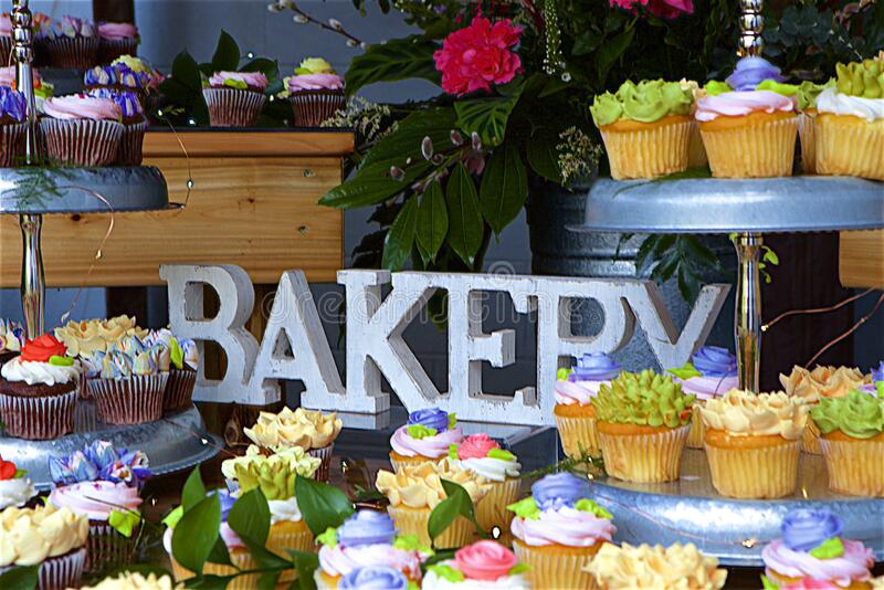 Pick a Cup Cake! stock images