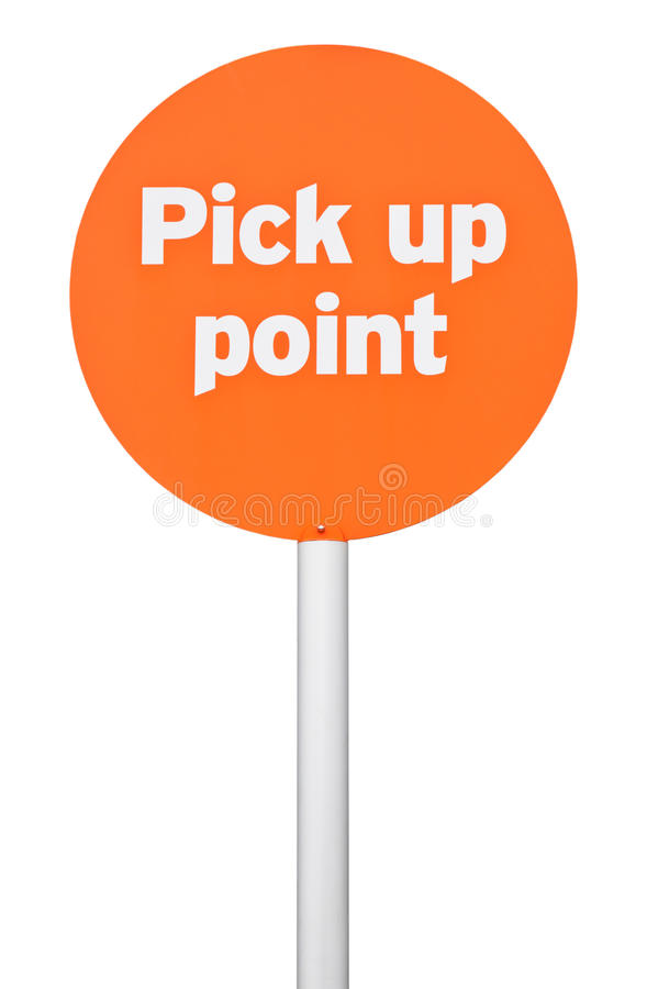 Download Pick up point sign stock photo. Image of meet, pick, arrive - 27535232