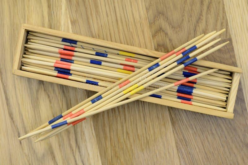 Pick-up sticks stock photography
