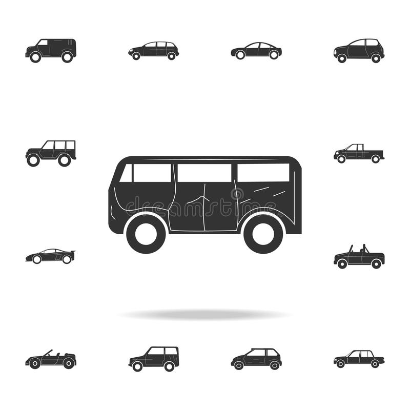 Pick-Up Truck car icon. Detailed set of cars icons. Premium graphic design. One of the collection icons for websites, web design, royalty free illustration