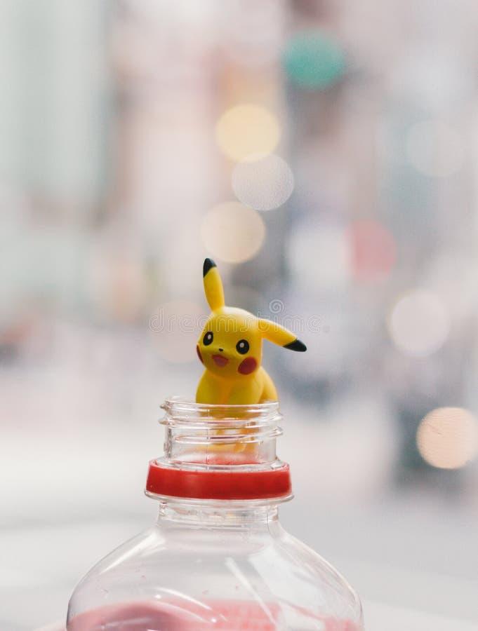 Pickachu toy character royalty free stock photos