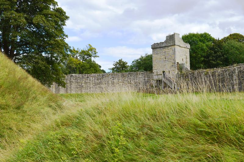 Pickering Castle royalty free stock photography