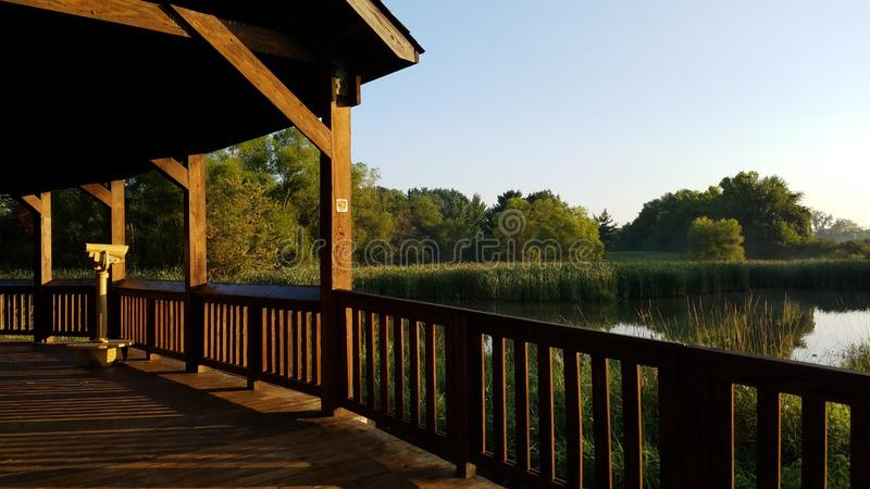 Pickerington Ponds Metro Park royalty free stock photography