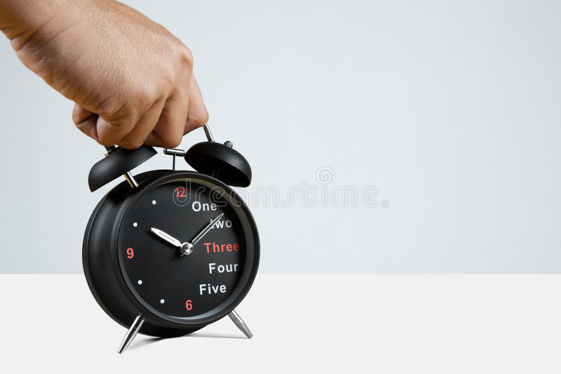Picking Up The Time royalty free stock images