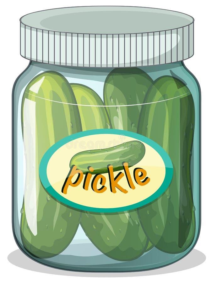 pickle stock illustratie