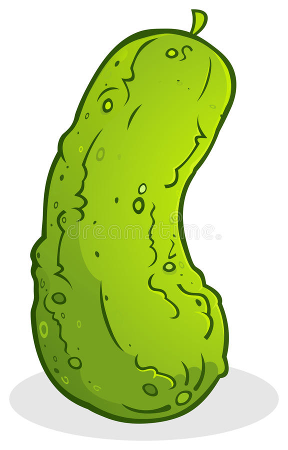 Pickle Cucumber Stock Photo