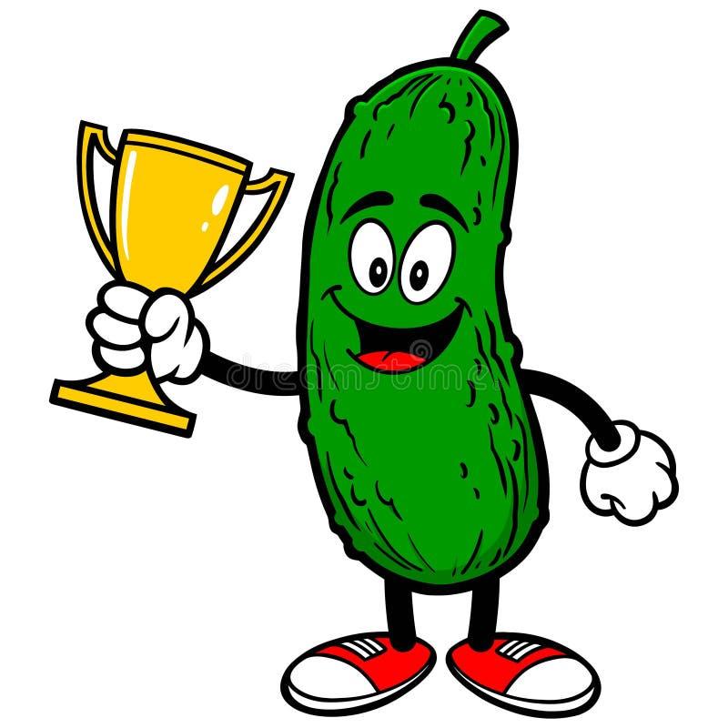 pickle-trophy-vector-illustration-729482