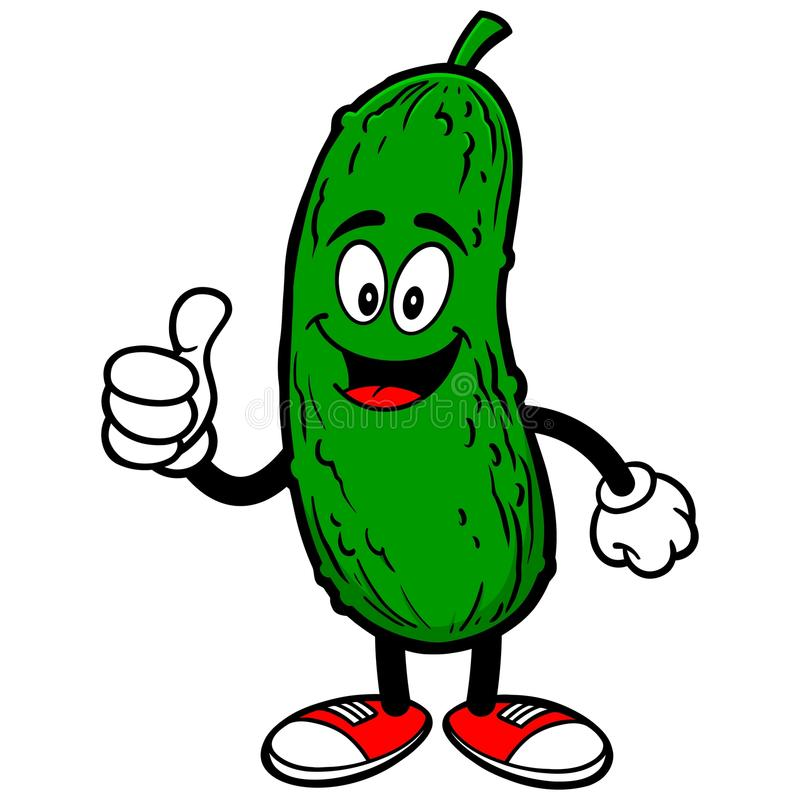 Free Pickle With Thumbs Up Stock Images - 72949024