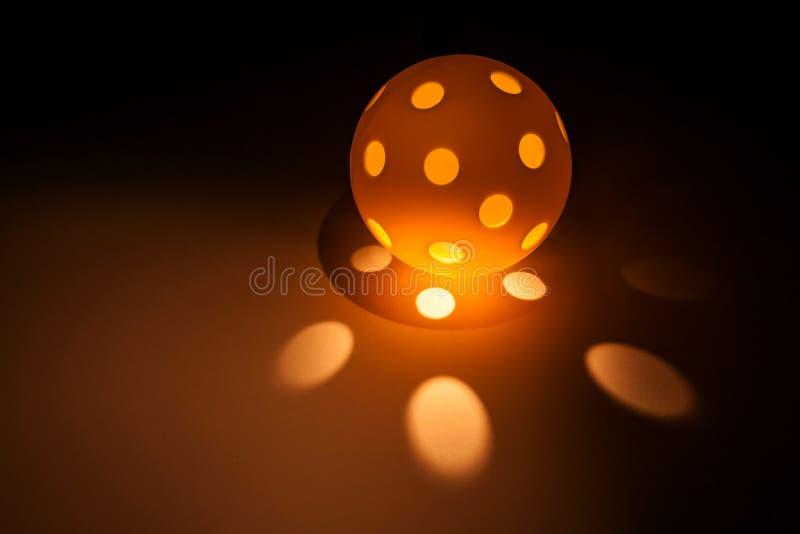 Pickleball ljus royaltyfri bild