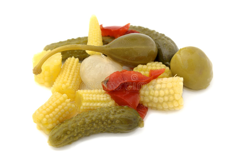 Pickled royalty free stock photography
