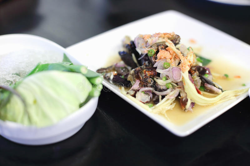 Download Pickled Crab Salad Stock Photo - Image: 33759240
