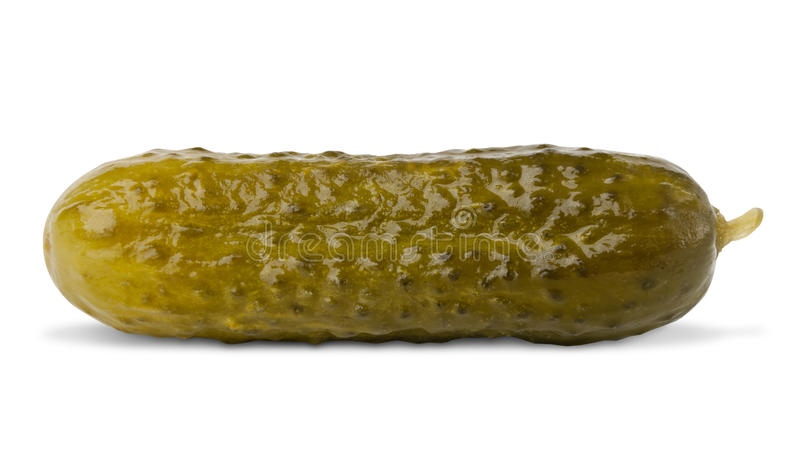 Pickled cucumber vegetable royalty free stock photos