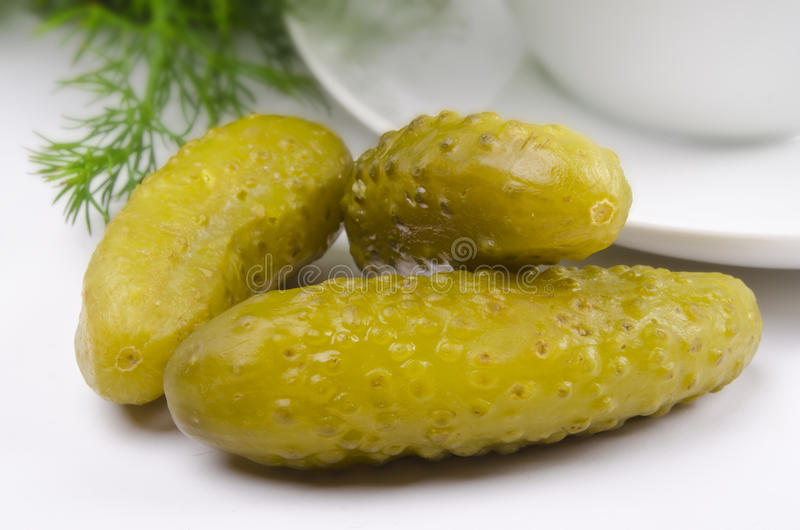 Pickled Gherkin Stock Photography