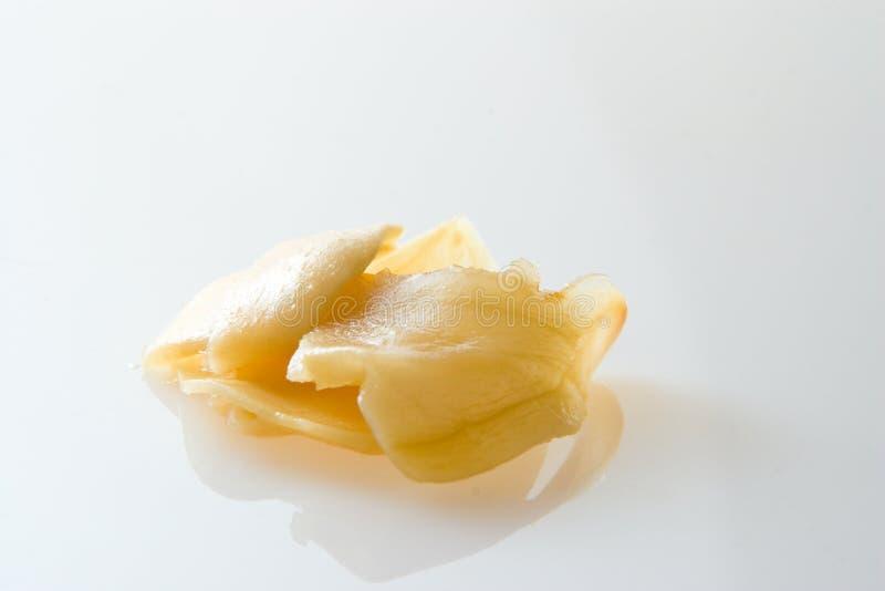Pickled ginger stock photo
