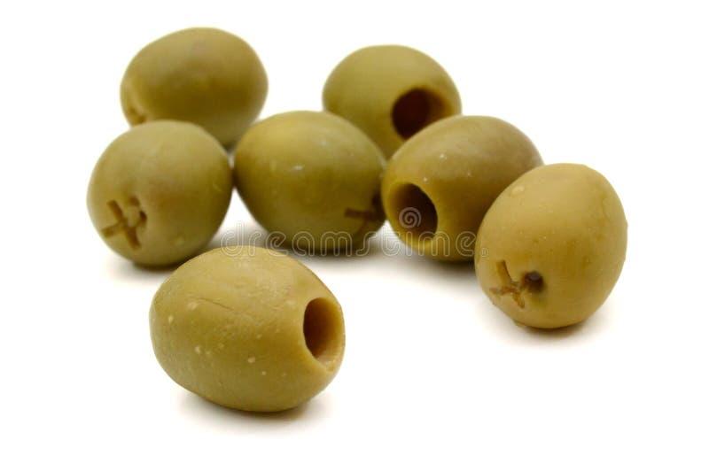 Green olives. stock photo