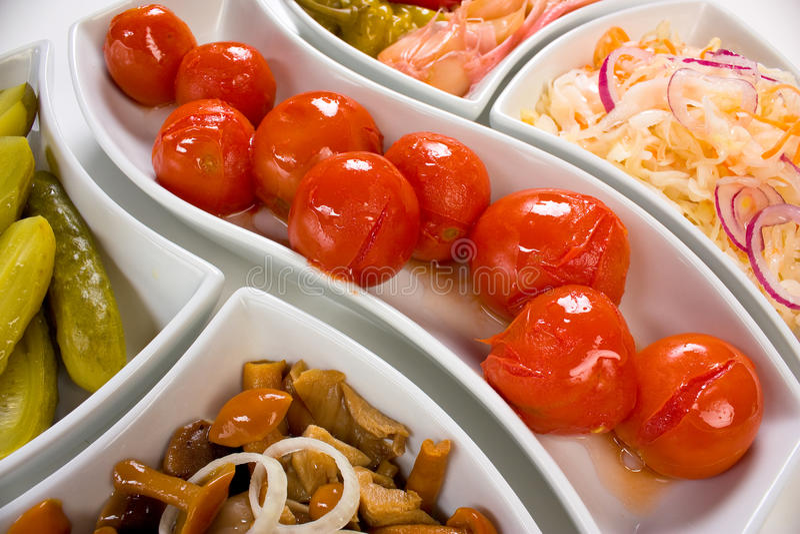Download Pickled vegetables stock photo. Image of snack, mushrooms - 17823488