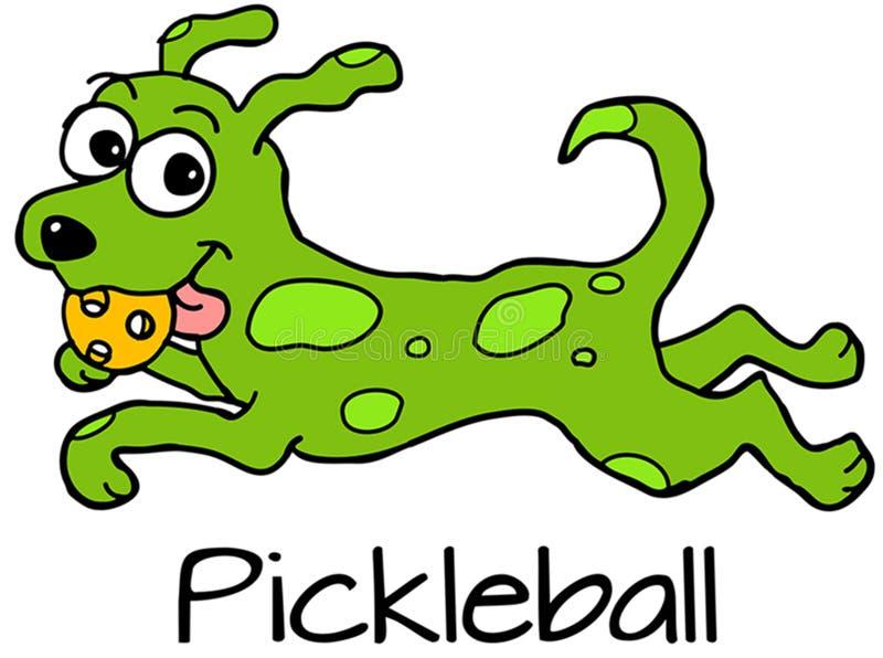 Pickledog Running stock image