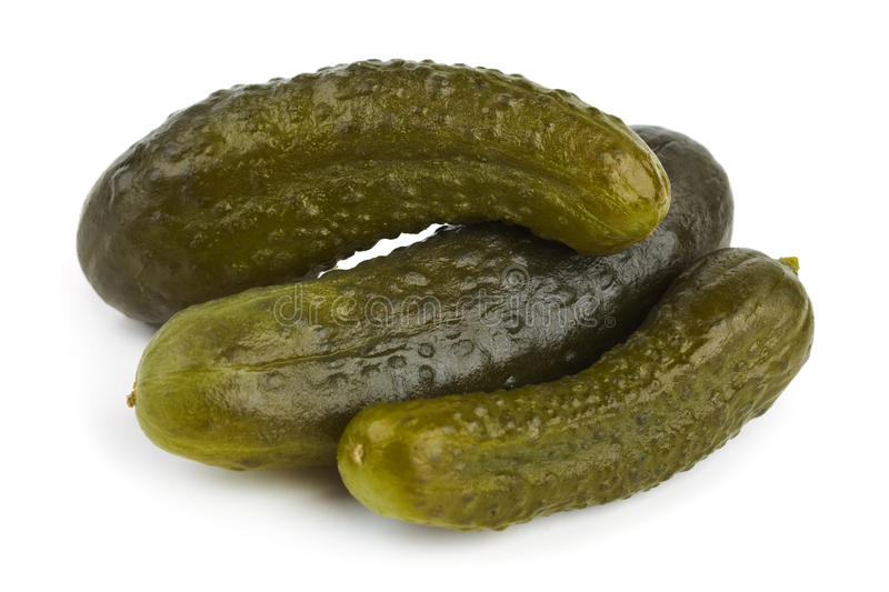 Pickles cucumber royalty free stock photos