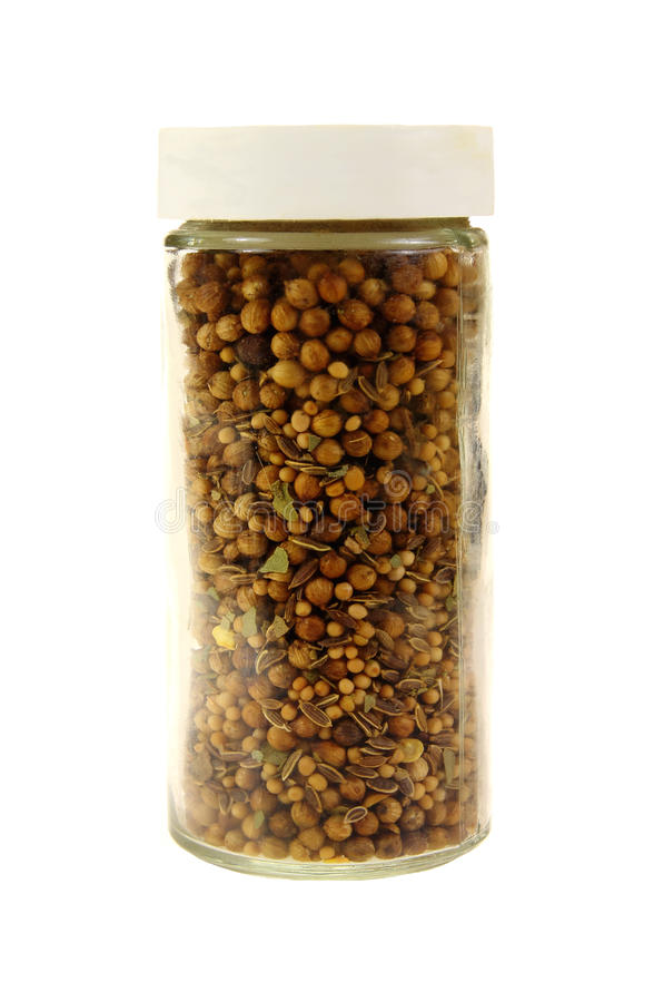 Free Pickling Spice In Jar Stock Photos - 25481243