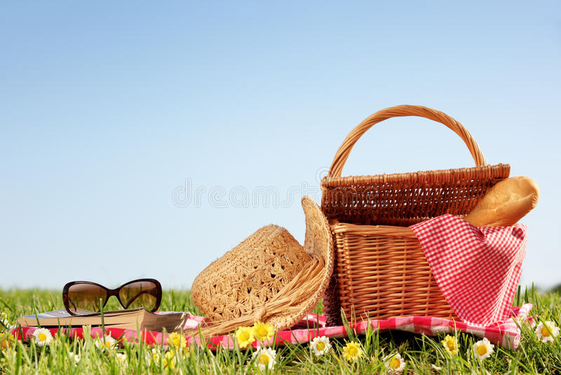 Picknick stock fotografie