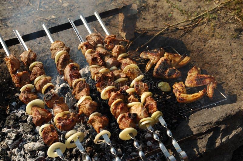 Download Picknick stockfoto. Bild von picknick, frech, flamme, rauch - 9086222