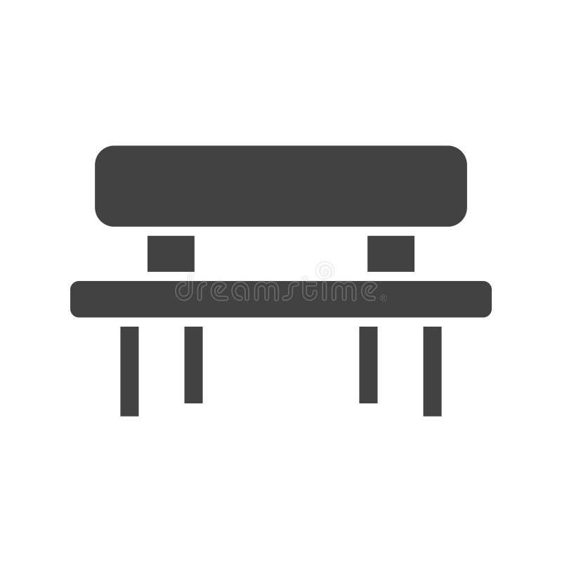 Picknick der Tabelle vektor abbildung