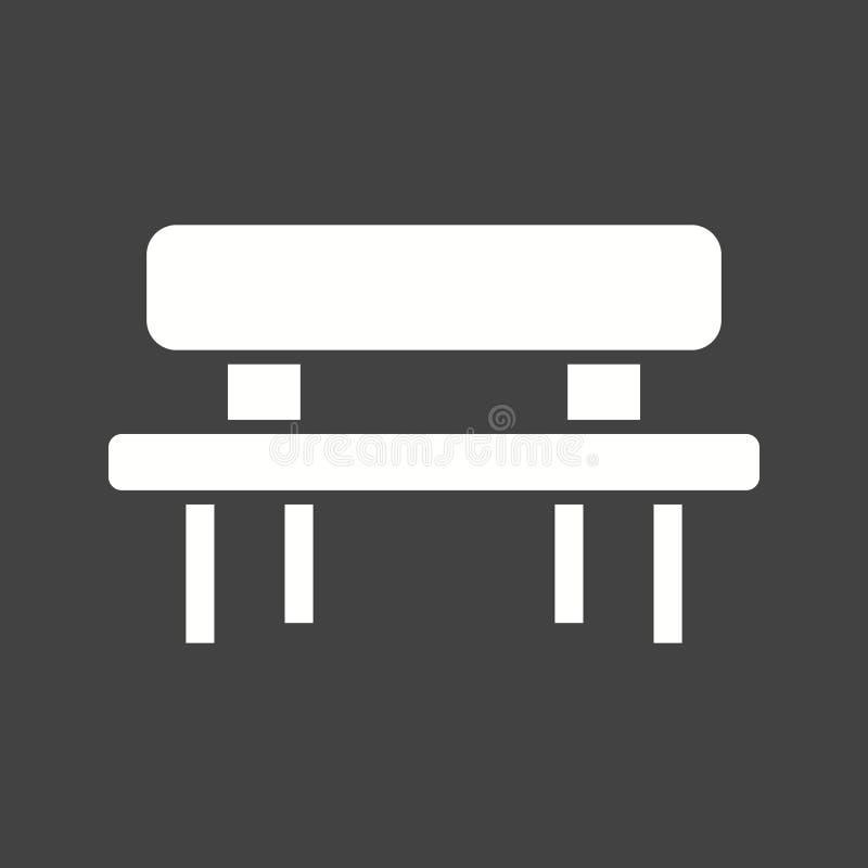 Picknick der Tabelle lizenzfreie abbildung