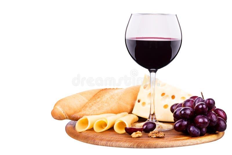 Picknick mit Wein und Nahrung lizenzfreie stockfotografie