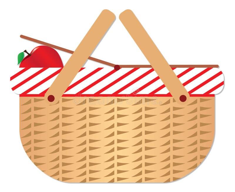 Picknickkorb lizenzfreie abbildung