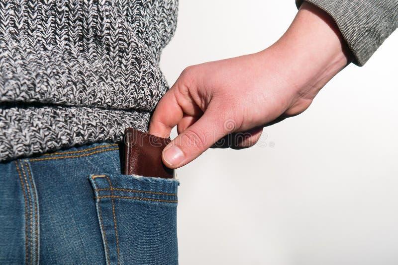 pickpocket photographie stock
