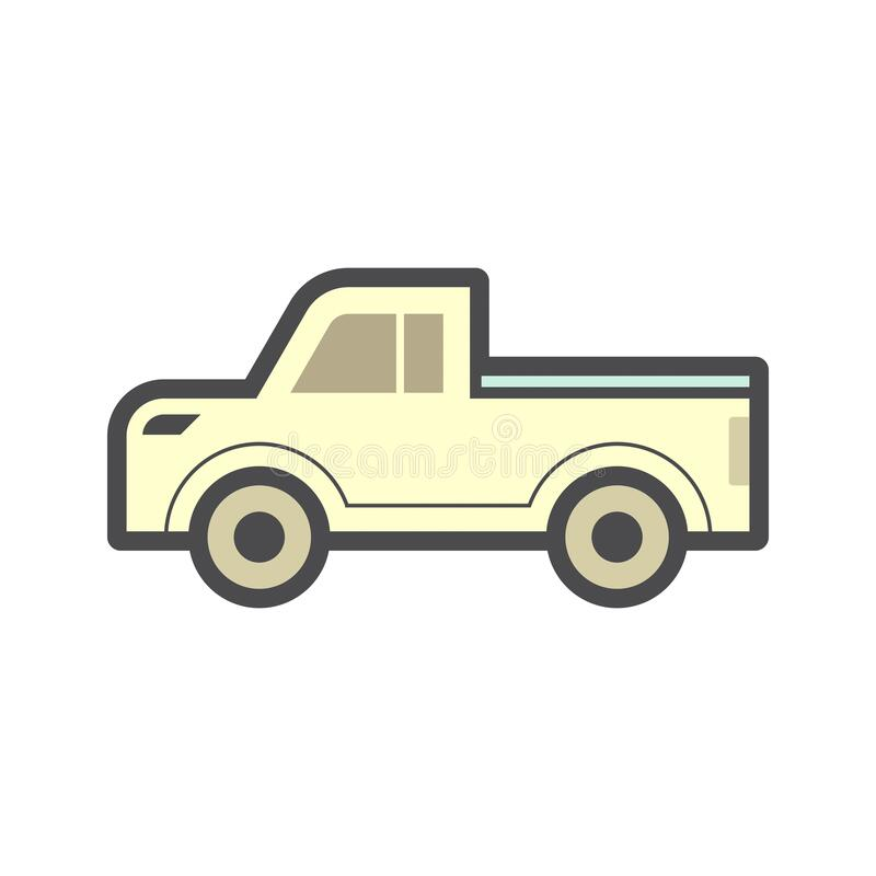Pickup Accessory Icon Stock Vector Illustration Of Side 172594689