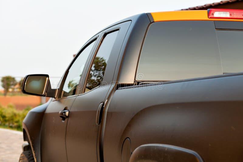 Pickup na drodze zdjęcia stock
