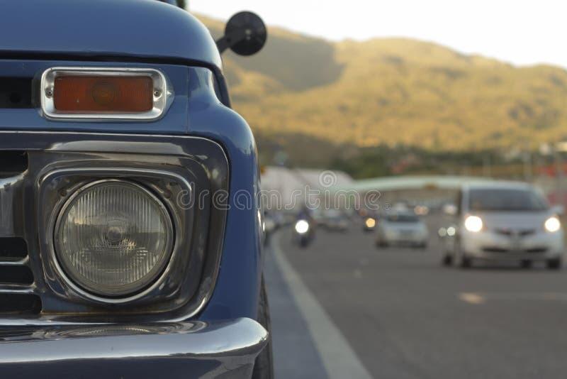 Pickup stock image