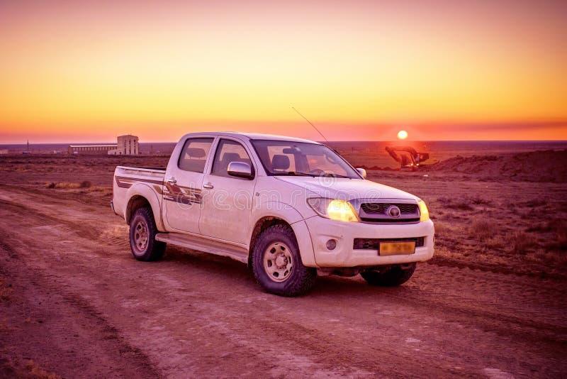 Pickup truck royalty free stock photos