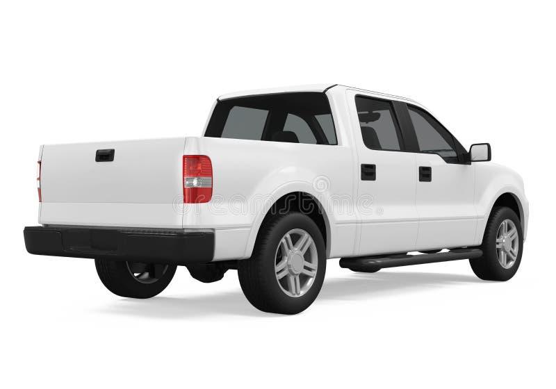 Pickup Truck Isolated stock illustration