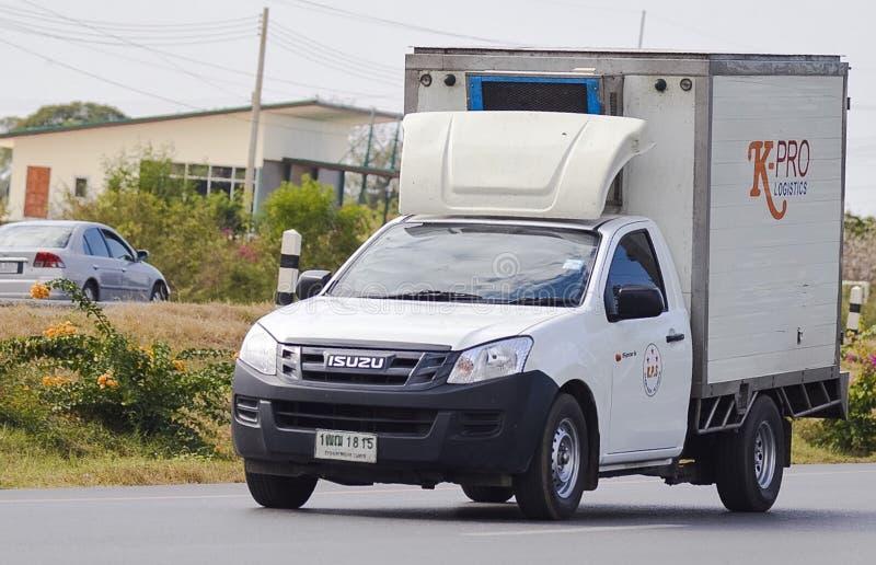 Pickup truck of K-pro Logistics Company royalty free stock photo
