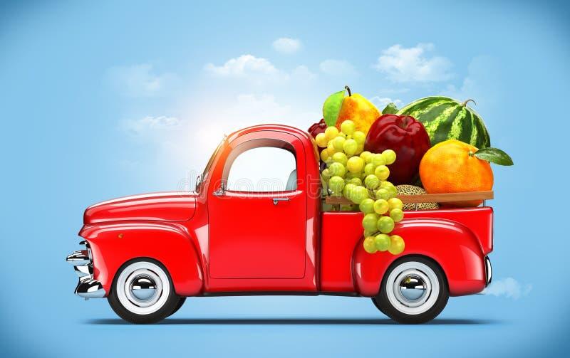 Pickup truck royalty free stock image