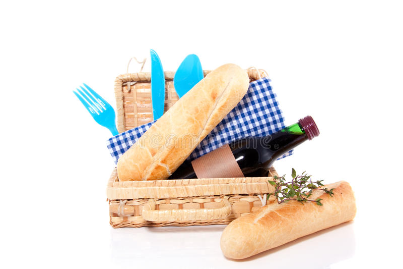 picnic μαχαιροπήρουνων κόκκιν&omi στοκ φωτογραφία με δικαίωμα ελεύθερης χρήσης